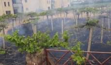 الدفاع المدني:إخماد حريق داخل منزل في الكرك وحريق دوالي عنب في مجدل عنجر