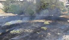 إخماد حريق داخل محلات في المحمرة و3 حرائق أخرى في لالا وتمنين التحتا والفرزل