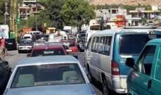 اقفال مدخل الهرمل عند محلة جسر العاصي رفضا لقرار اقامة محطة للصرف الصحي