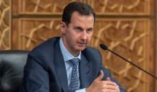 الاسد: الدول المعنية بملف اللاجئين هي التي عرقلت عودتهم