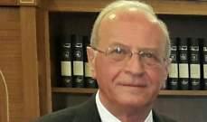 القاضي سمير حمود يستمع الى رياض الأسعد في قضية الرملة البيضاء