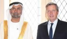 رئيس المجلس العالمي للتسامح والسلام التقى رئيس البرلمان الارجنتيني