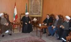 قبلان التقى رئيس بلدية الغبيري وعرضا المشاريع المنوي تنفيذها