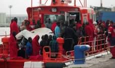 خفر السواحل الإيطالي:إنقاذ 1400 مهاجر في البحر المتوسط منذ بداية 2018