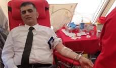 الحسن وعثمان افتتحا حملة تبرّع بالدم لصالح الصليب الأحمر