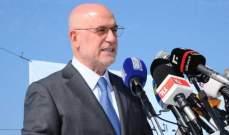 فنيانوس: لا نفرض اي رسوم على الشاحنات السورية عند دخولها وخروجها من اراضينا
