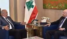 مخزومي عرض مع سفير الارجنتين الاوضاع وتعزيز التعاون الاقتصادي