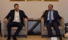 المرعبي زار الشامسي ونوه بتقديمات الإمارات لعكار والمشاريع التي قامت بها