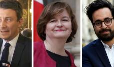 الإليزيه: استقالة ثلاثة وزراء من الحكومة الفرنسية