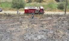الدفاع المدني: إخماد حريق شب بأعشاب يابسة بجديدة مرجعيون بسبب ارتفاع درجات الحرارة
