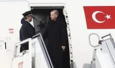 أردوغان توجه الى موسكو في إطار زيارة رسمية تستغرق يوما واحدا