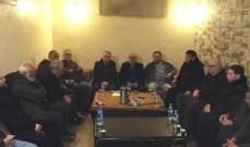 النشرة: اجتماع بين ممثلي تجمع لجان الأحياء في عين الحلوة وعصبة الأنصار