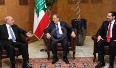 مصادر الوطني الحر للقبس: دعوة عون لبري والحريري لإنقاذ البلد