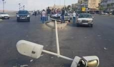 النشرة: سقوط جريح بحادث سير مروع في صيدا