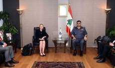 عثمان استقبل رئيس بلدية الفنار ومديرة العلاقات بالشرطة الفيدرالية الأسترالية