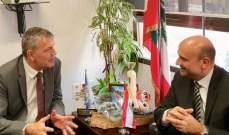 أبي رميا التقى لاسن ولازاريني: لزيادة الدعم للشباب اللبناني