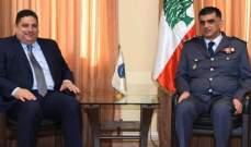 اللواء عثمان استقبل رئيس الجامعة الانطونية ورئيس بلدية جونية