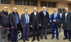 رئيس الجامعة اللبنانية تفقد كليات الجامعة في الفروع الرابعة بزحلة