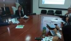 وزير الزراعة استقبل وفداً من بلدات في المتن الاعلى وتابع ملف تطوير التعليم الفني الزراعي