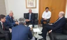 زعيتر التقى سفير هنغاريا في لبنان وعرض معه العلاقات الثنائية