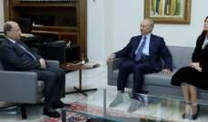 الرئيس عون استقبل فيوليت ومحمد الصفدي