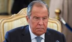 لافروف: على اليابان أن تعترف بسيادة روسيا على جزر الكوريل لتتقدم المفاوضات