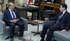 الرئيس عون بحث مع أبي خليل شؤون وزارة الطاقة وموضوع مؤسسة كهرباء لبنان