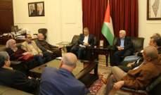 السفير الفلسطيني التقى الاعضاء المنتخبين لفتح في منطقة شمال لبنان