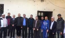 النشرة: اللجان الشعبية بمخيم عين الحلوة تابعت ملف إعمار حي الطيرة