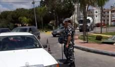 النشرة: قوى الأمن وزعت كتيبات حول قانون السير في صور والنبطية