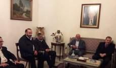 البزري التقى وفد الجماعة الاسلامية وبحثا الوضع الانتخابي