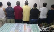 توقيف أفراد شبكة لتهريب الحشيشة والكبتاغون داخل جلود المواشي بين لبنان ومصر
