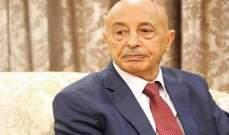 رئيس برلمان ليبيا استنكر تفجير بنغازي:هذه الأعمال لن تثنينا عن مكافحة الإرهاب