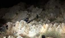 الدفاع المدني: انقاذ مواطن إثر سقوطه في منحدر في المديرج