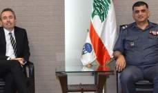 اللواء عثمان التقى السفير البريطاني الجديد بزيارة تهدف إلى التعاون والتنسيق