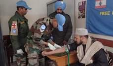 الكتيبة الهندية تنظم حملة مجانية لفحص السكري في شبعا