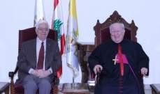 المطران مطر التقى سفير منظمة فرسان مودعا
