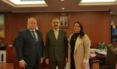 أيوب بحث مع رئيس جامعة شمال القوقاز الإتحاديّة إمكانيّة إنشاء مختبر أبحاث لعلوم الفضاء
