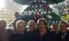 بلدية راشيا الفخار أضاءت شجرة الميلاد وأقامت ريسيتالا ميلاديا بالمناسبة