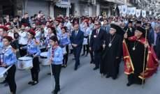 العبسي دشن دار مطرانية حلب وكاتدرائيتها ثم يتوجه الى مصر