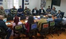 المكاوي أعلن ساعة الصفر لانطلاق غرفة عمليات إدارة الكوارث في جبل لبنان