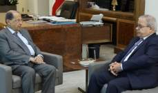 الرئيس عون استقبل النائب ماريو عون