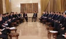 بوريسوف: الجهود الروسية-السورية ستنجح بإعادة إطلاق الاقتصاد السوري وإعمار البنية التحتية