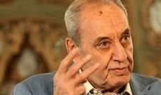 بري: لا يريدون ذهاب وزير الى دمشق بينما حزب الله كله في سوريا