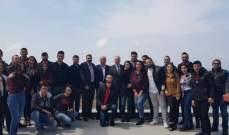 كرم زار مجمع الجامعة اللبنانية الجديد في الكورة