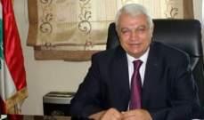 قمر الدين التقى المنسق الخاص للأمم المتحدة في لبنان