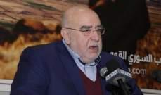 حمدان لجنبلاط: حقدك على الجيش اللبناني معروف منذ زمن طويل وهذا الزمن انتهى