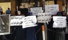 أهالي موقوفي أحداث عبرا نفذوا اعتصاما امام مسجد الروضة في صيدا