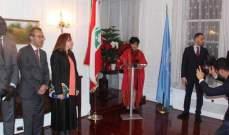 النشرة: بعثة لبنان لدى الأمم المتحدة إحتفلت بعيد الإستقلال