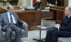 الرئيس عون استقبل سفير استراليا غلين مايلز لمناسبة انتهاء عمله في لبنان